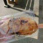 恵那の道の駅「らっせいみさと」で五平餅食べました【甘辛おいしい】