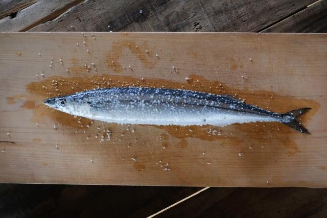 魚に振り塩をする理由