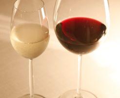ワイングラスの大きさの違い